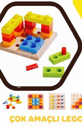 Ahşap Lego Çok Amaçlı ,Toptan Satış