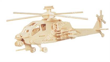 3D Ahşap Helikopter Maketi ,Toptan Satış