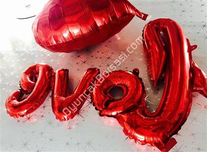 Toptan Folyo balon  love yazısı ,Toptan Satış