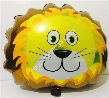 Safari Model Aslan Folyo Balon ,Toptan Satış