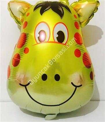 Safari Model Zürafa Folyo Balon ,Toptan Satış
