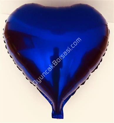 Mor Renk Kalp Folyo Balon ,Toptan Satış