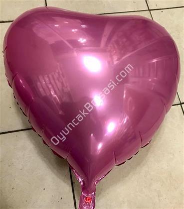Pembe Kapli Folyo Balon 18 inç ,Toptan Satış