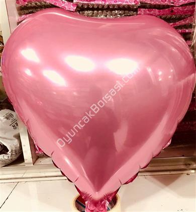 Pembe Kapli Folyo Balon 22 inç ,Toptan Satış