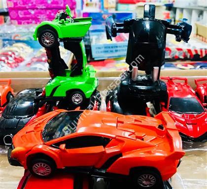 Robota Dönüşebilen Metal Çek bırak Araba ,Toptan Satış
