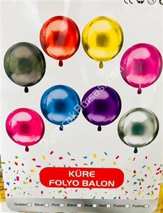 Küre Model Folyo Balon ,Toptan Satış