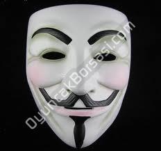 V For Vendetta Maske toptan ,Toptan Satış