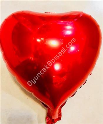 Kalp Folyo Balon Mini kırmızı ,Toptan Satış