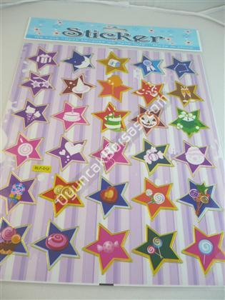 Toptan Sticker Yıldız Modeli blf012 ,Toptan Satış