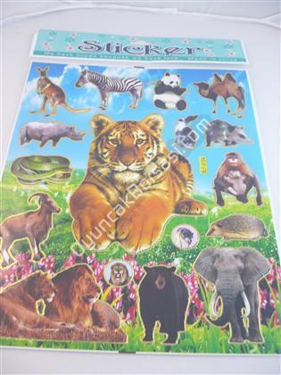 Toptan Sticker Hayvan Modeli blf-013a ,Toptan Satış