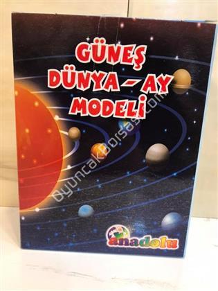 Güneş Dünya AY Sistemi Modeli Deney seti ,Toptan Satış