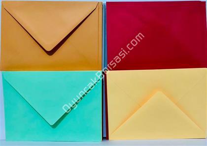 Renkli Zarf 100 lü ,Toptan Satış