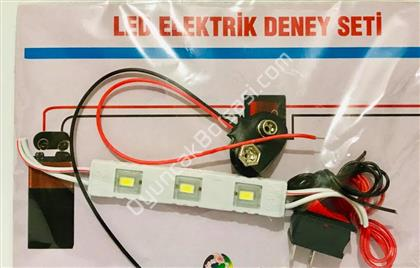 Led elektrik Deney Yapım Seti ,Toptan Satış