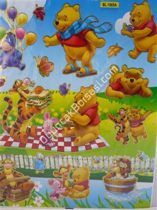 Toptan Sticker vinidi pooh Modeli bl1065a ,Toptan Satış