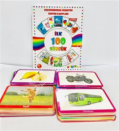 İlk 100 Sözcük Eğitici Kart ,Toptan Satış