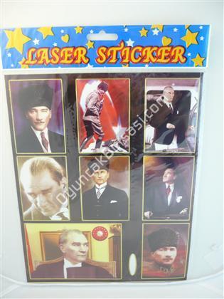 Toptan Sticker Atatürk Modeli ,Toptan Satış