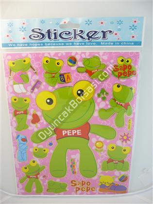 Toptan Sticker Kurbağa Modeli bam blf 1050 ,Toptan Satış