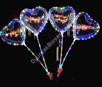 Işıklı Ledli Balon Kalp Model ,Toptan Satış