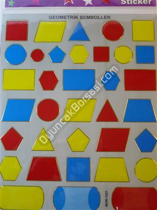 Toptan Sticker Geometrik Şekiller Modeli ,Toptan Satış