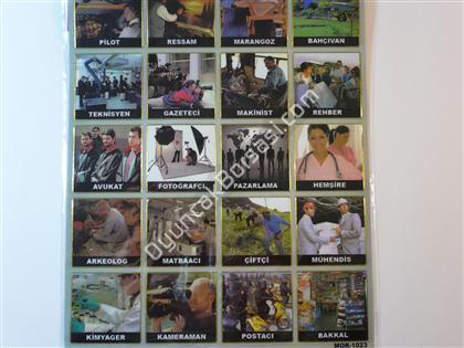 Toptan Sticker Meslekler Modeli ,Toptan Satış