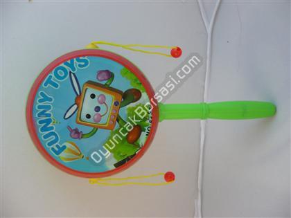 Plastik Derili B�y�k Boy El Trampet ,Toptan Sat��