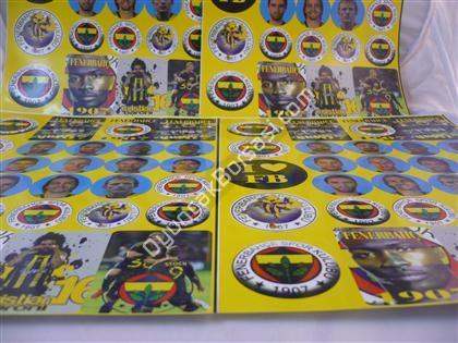 FB Taraftar Sticker Toptan Sticker ,Toptan Satış