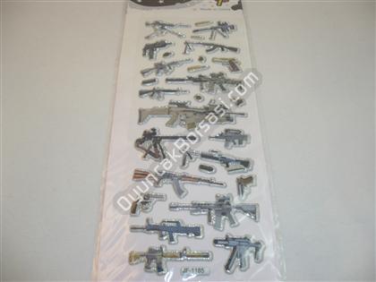 Damla sticker nice days tüfek modeli ,Toptan Satış