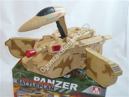 Pilli Oyuncak Panzer I��kl� M�zikli ,Toptan Sat��
