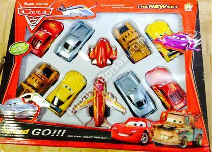 Şimşek Araba 10 lu Set ,Toptan Satış