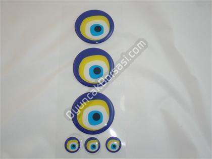 Damla Nazar sticker ,Toptan Satış