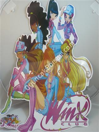 Toptan Sticker 46 cm B�y�kl���nde winx model ,Toptan Sat��