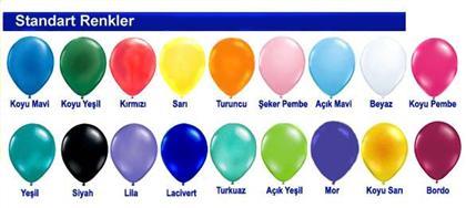 Dekorasyon Balonu Tek Renk balon ,Toptan Satış
