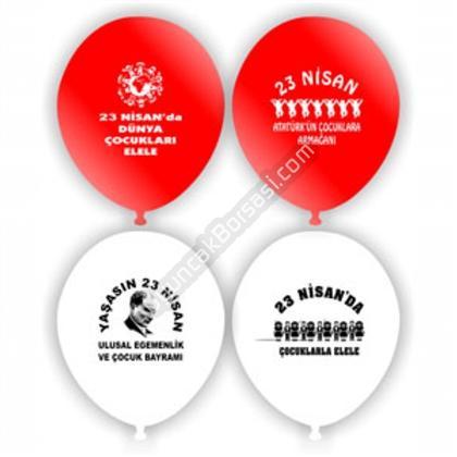 23 Nisan Balonu Toptan ,Toptan Satış