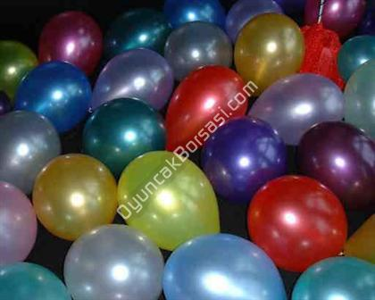 Metalik Renkli balon ,Toptan Sat��