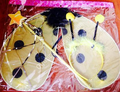 Arı Kanadı Seti 23 nisan kostümleri ,Toptan Satış