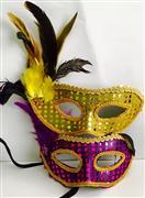 Parti Maskesi Tüylü Dantel ve Puntolu, Toptan Satış