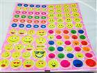 Gülen yüz model sticker değişik figürler, Toptan Satış
