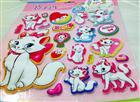 Toptan 3 boyutlu sticker kedi maria modeli, Toptan Satış