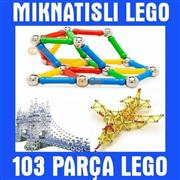 103 parça Manyetik Lego, Toptan Satış