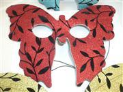 simli kelebek parti maskesi büyük model, Toptan Satış