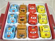 oyuncak toptan 12 li şimşek araba set, Toptan Satış