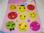 3 boyutlu gülen yüz sticker toptan sticker satış, Toptan Satış