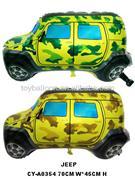 askeri jeep model folyo balon, Toptan Satış
