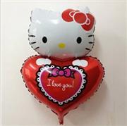 hello kity kalpli model folyo balon, Toptan Satış