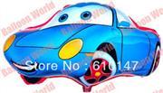 arabalar mavi renk folyo balon, Toptan Satış