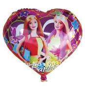toptan folyo balon kalpli  barbie 18 inç, Toptan Satış