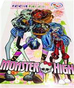 3 boyutlu kabartma sticker monster high, Toptan Satış