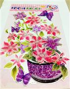 toptan 3 boyutlu kabartma sticker çiçekler modeli, Toptan Satış