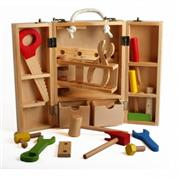 ahşap oyuncaklar ahşap marangoz çantası, Toptan Satış