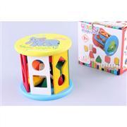 ahşap oyuncaklar Ahşap Geometrik Şekilli Tekerlek, Toptan Satış